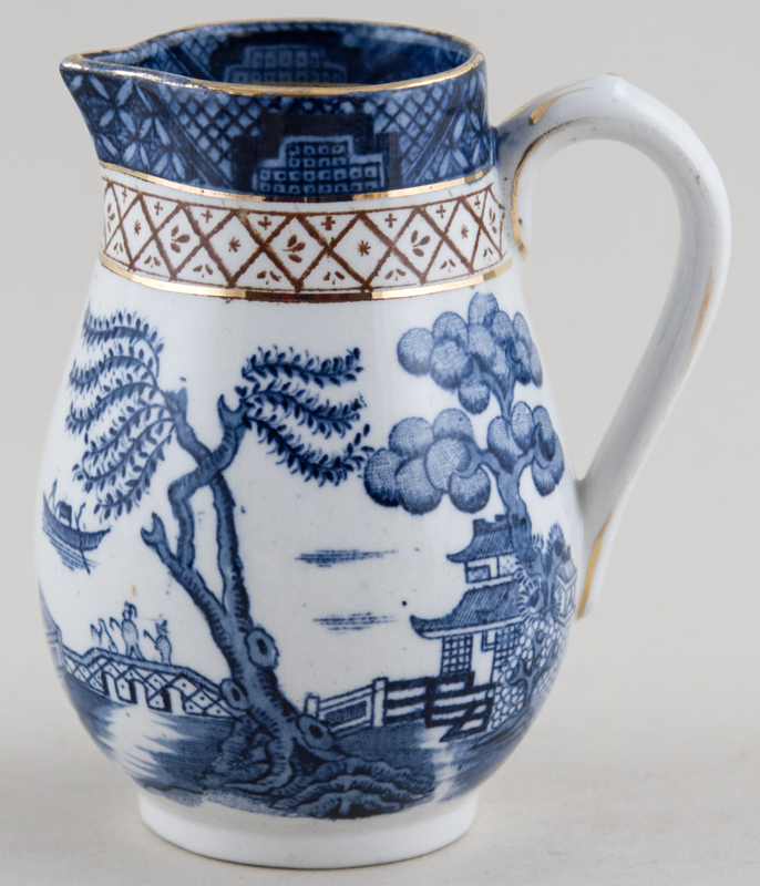 Harley Jones Ye Old Chinese Willow Jug or Pitcher c1930s