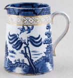 Booths Real Old Willow Jug or Pitcher Tankard c1930s
