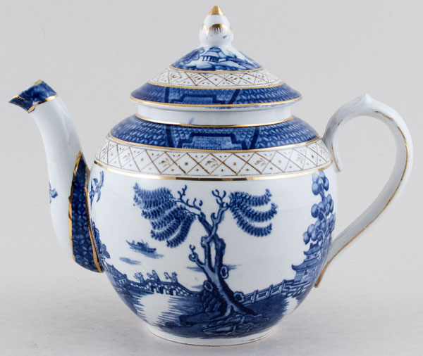 Booths Real Old Willow Teapot c1920s