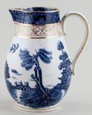 Booths Real Old Willow Jug or Pitcher c1910