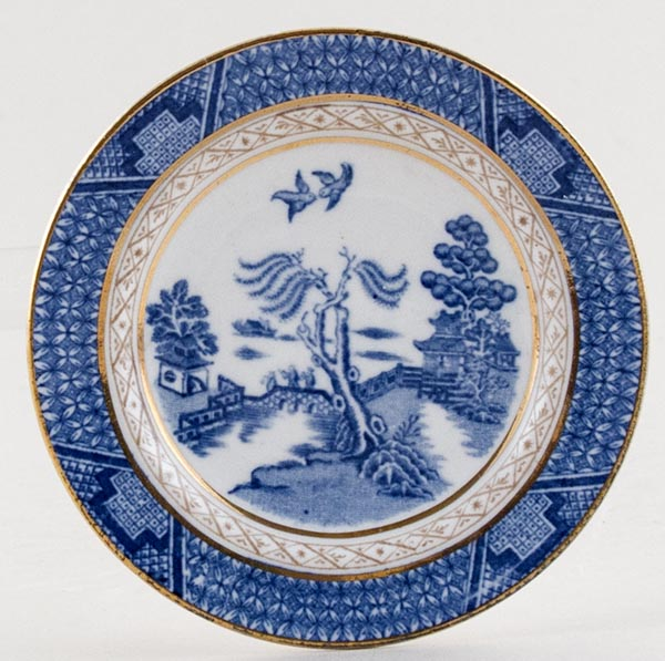 Booths Real Old Willow Miniature Plate c1930s