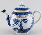 Booths Real Old Willow Teapot c1930s