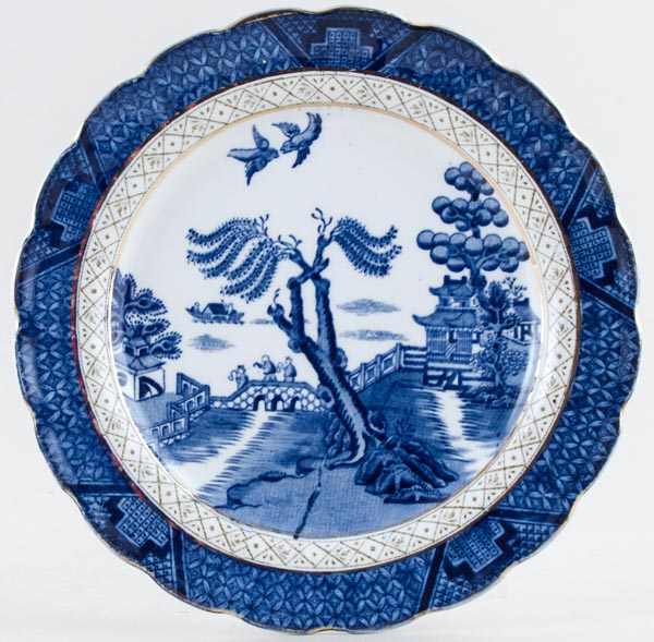 Booths Real Old Willow Plate c1930s