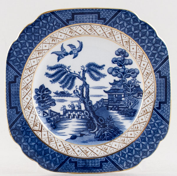 Booths Real Old Willow Plate c1930