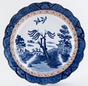 Booths Real Old Willow Plate c1944