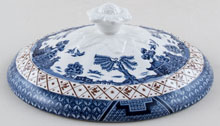 Booths Real Old Willow Vegetable Dish Lid c1950s