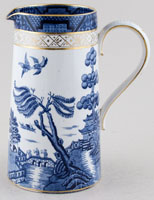 Booths Real Old Willow Jug or Pitcher tankard c1920s