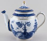 Booths Real Old Willow Teapot c1930