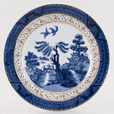 Booths Real Old Willow Plate c1931