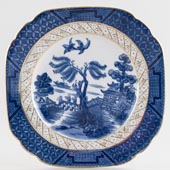 Booths Real Old Willow Plate c1928