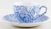 Burleigh Scilla Coffee Cup and Saucer c1980s