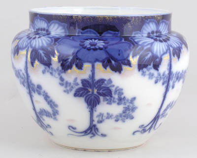 Burgess and Leigh Briar Cache Pot or Jardiniere c1910