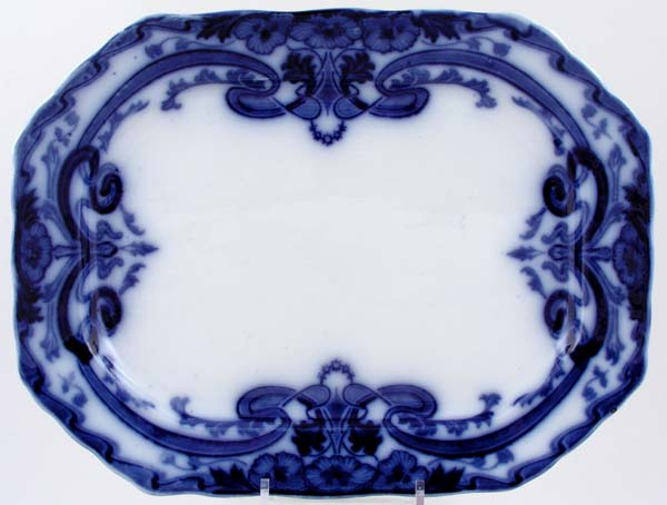 Burgess and Leigh Burleigh Meat Dish or Platter c1903