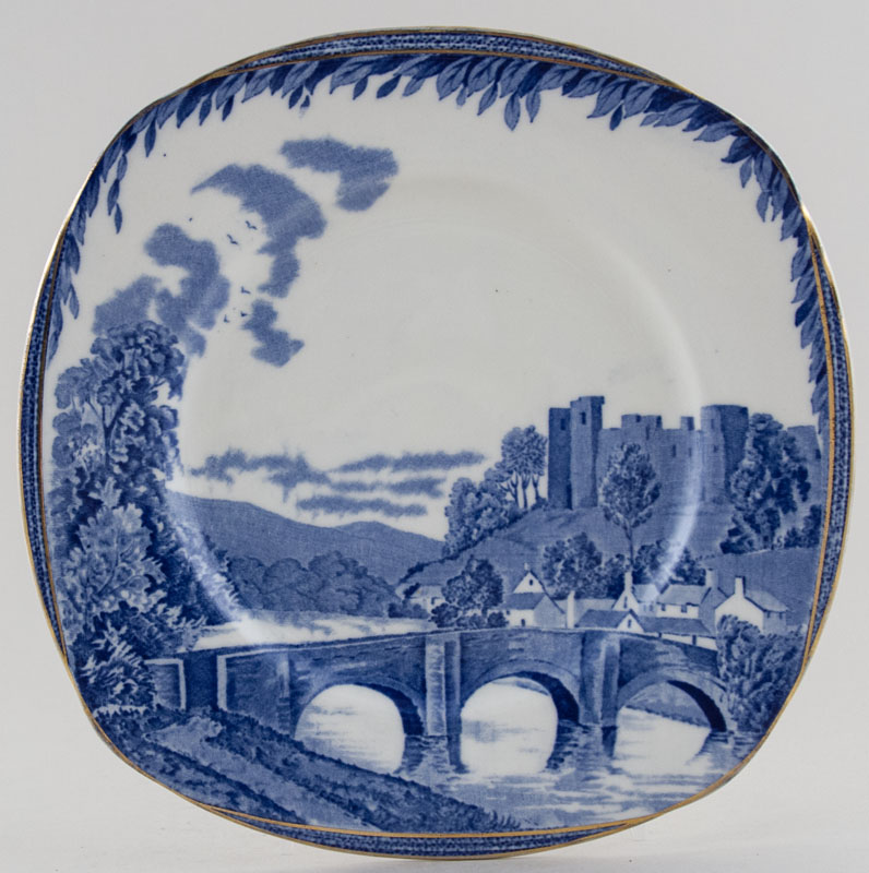 Burgess and Leigh Britain Beautiful Plate Ludlow c1930s