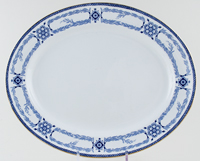 Burgess and Leigh Radford Meat Dish or Platter c1920s