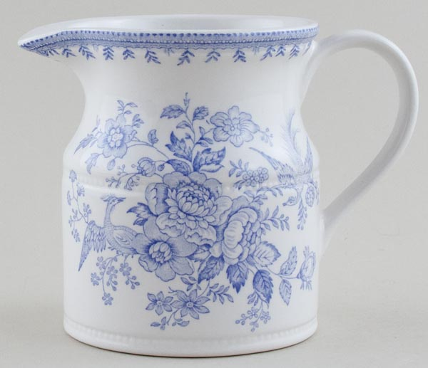 Burleigh Asiatic Pheasants Jug or Pitcher Churn c2000