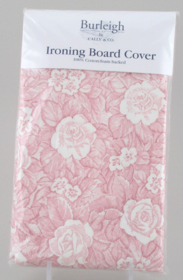 Burleigh Victorian Chintz pink Ironing Board Cover
