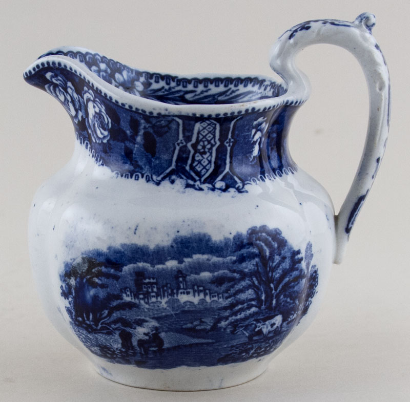 Cauldon Sylvan Jug or Pitcher c1910
