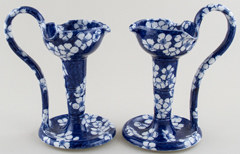 Candlesticks pair of c1920s