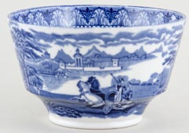 Cauldon Chariot Sugar Bowl c1930