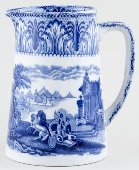 Cauldon Chariot Jug or Pitcher Tankard c1930