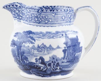 Wardle Arcadian Chariots Jug or Pitcher c1920s