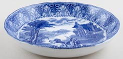 Cauldon Chariot Cereal or Dessert Bowl c1930s