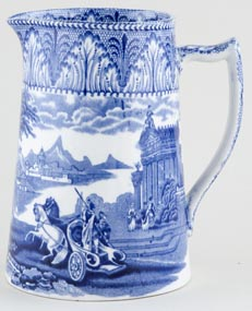 Cauldon Chariot Jug or Pitcher c1930