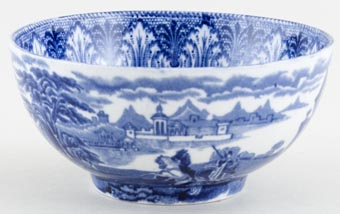 Cauldon Chariot Bowl small c1930