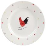 Queens Alex Clark Rooster colour Salad or Dessert Plate