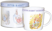 Mug in a Tin Peter Rabbit