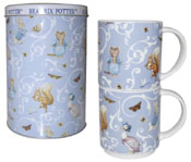 Mug in a Tin set of 2