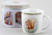 Mug in a Tin Squirrel Nutkin