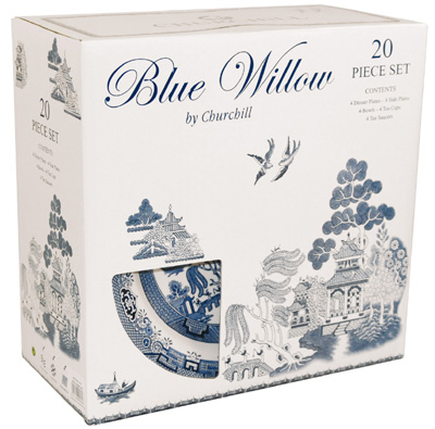 sc 1 st  Lovers of Blue and White & Churchill Blue Willow china | Lovers of Blue and White