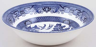 Churchill Blue Willow Fruit or Salad Bowl