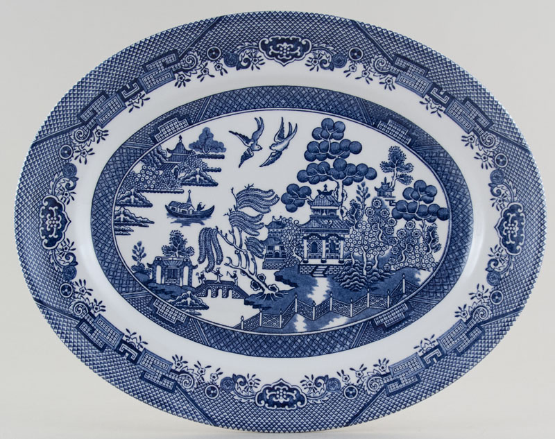 sc 1 st  Lovers of Blue and White : blue willow dinnerware made in england - pezcame.com