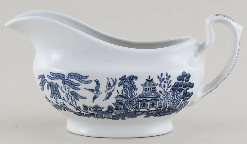 Churchill Blue Willow Sauce Boat
