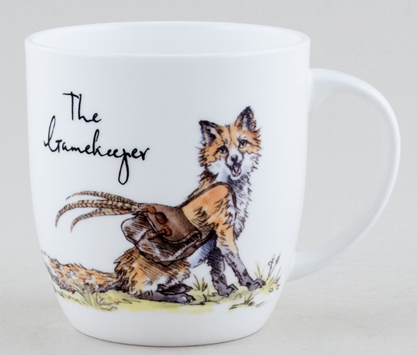 Queens Country Pursuits Mug The Gamekeeper
