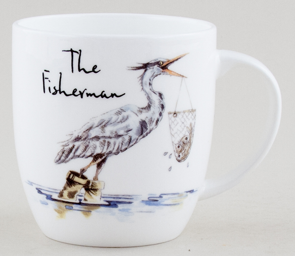 Queens Country Pursuits Mug The Fisherman