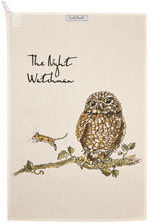 Queens Country Pursuits Tea Towel The Night Watchman