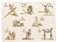 Queens Country Pursuits Placemats Set of Six