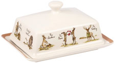 Queens Country Pursuits Butter Dish