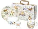 Breakfast Set in Tin Hundred Acre Wood