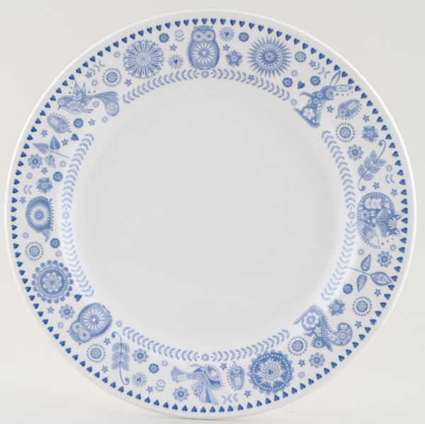 Queens Penzance Dinner Plate Border