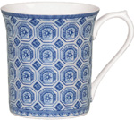 Queens Blue Story Mug Classical