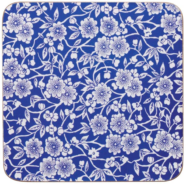 Queens Blue Story Coasters Calico set of 4