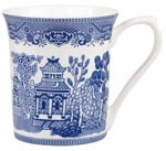 Queens Blue Story Mug Willow