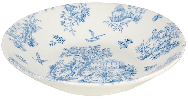 Queens Toile de Jardin Dessert or Soup Bowl