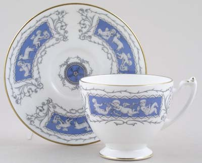 Coalport Revelry Teacup and Saucer