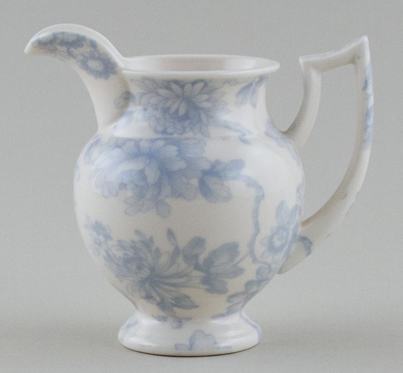 Cotton Unidentified Pattern Jug or Creamer c1970s